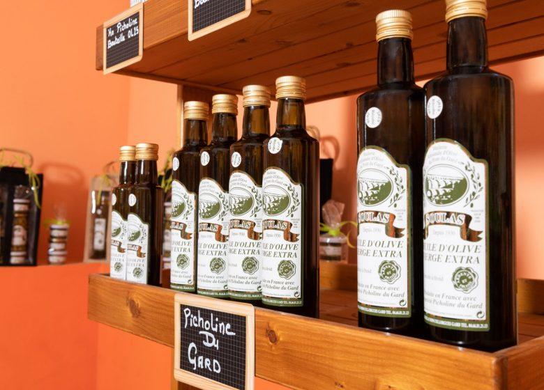 Huilerie artisanale d'olive du Pont du Gard Soulas