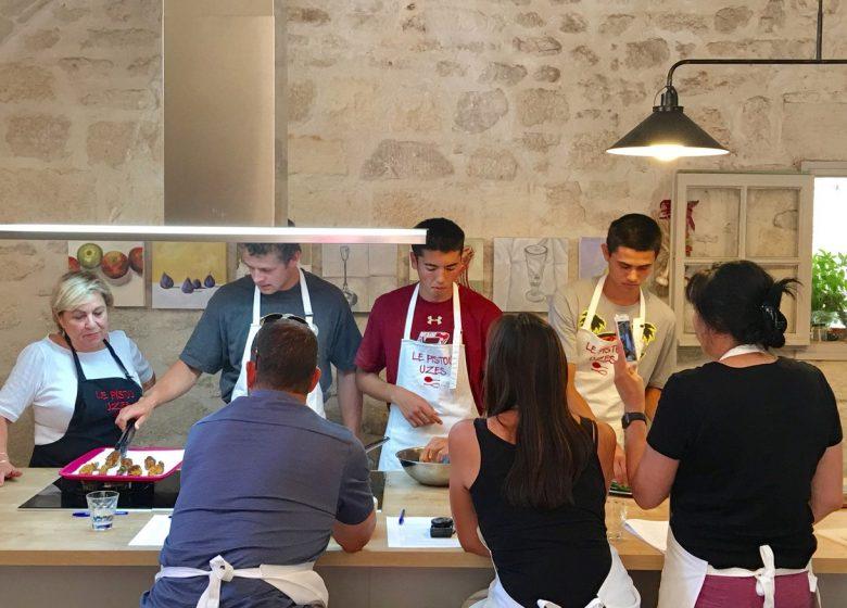 Le Pistou – Atelier de cuisine / Cooking School