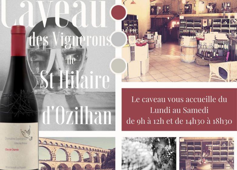 Caveau des vignerons de Saint-Hilaire d'Ozilhan