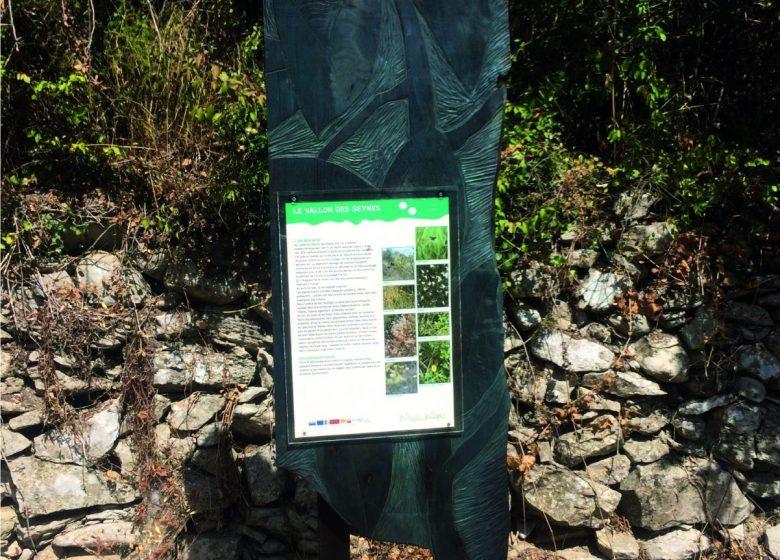 Sentier art et nature La Draille des Seynes – Parcours 1