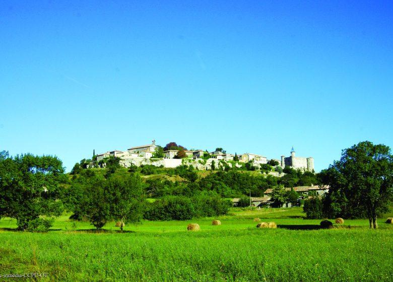 Excursion : Lussan, village perché