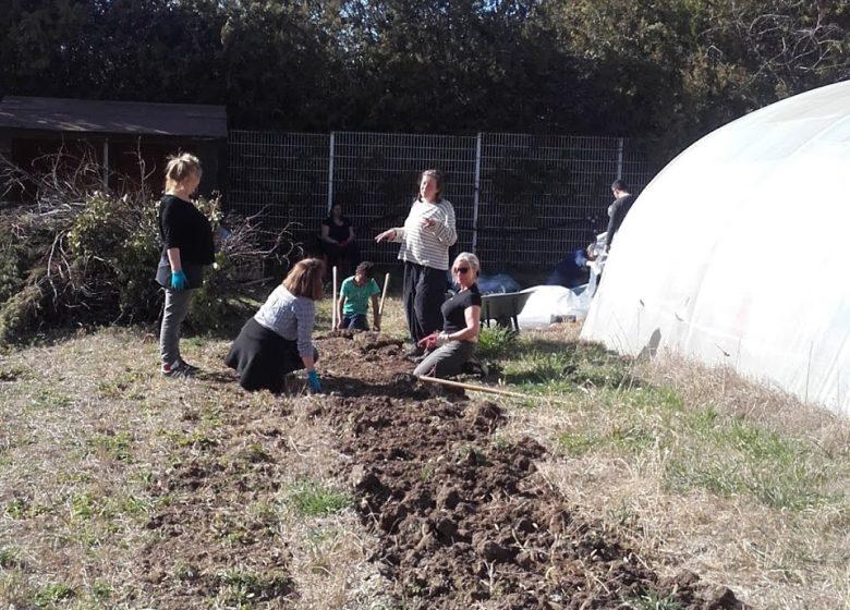 Jardins Partagés d'Uzès au Mas Careiron